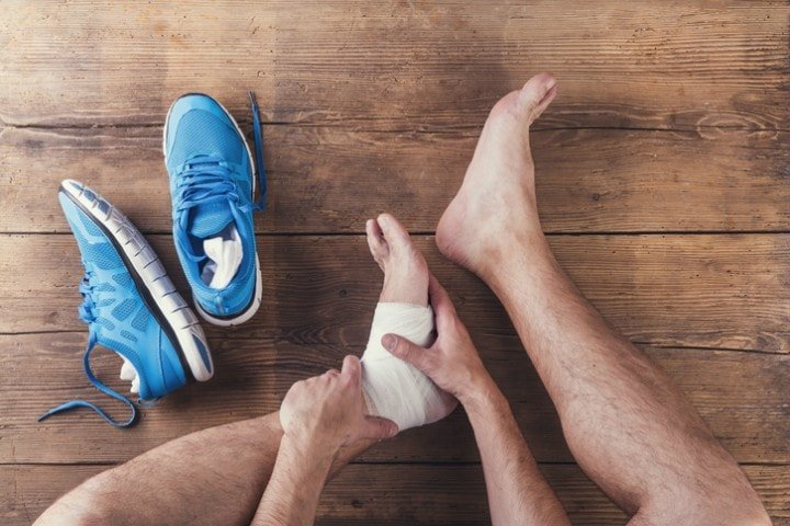 Sprained ankle | Physiotherapy | Clinic CMI